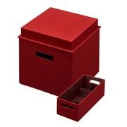Rubbermaid Bento Box Set, Paprika