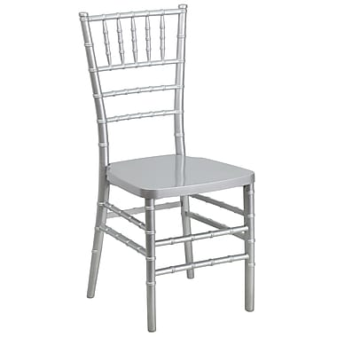 Flash Furniture 20/Pack 17.75''H Flash Elegance Resin Stacking Chiavari Chairs