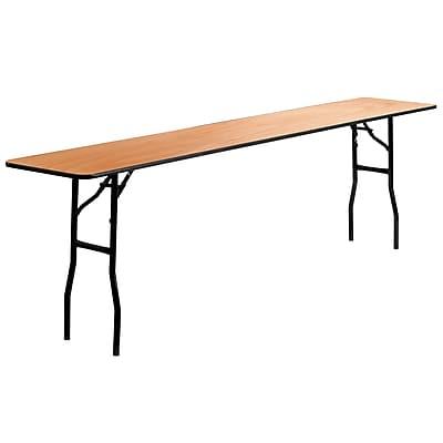 Flash Furniture Seminar 18'' Rectangular Folding Training Table, Plywood (YTWTFT18X96TBL)
