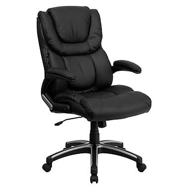 Flash Furniture – Fauteuil de direction à dossier haut, noir
