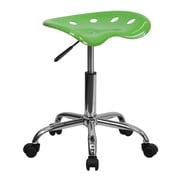 "Flash Furniture 25.75"" Vibrant Tractor Stool, Spicy Lime (LF214ASPCYLIME)"