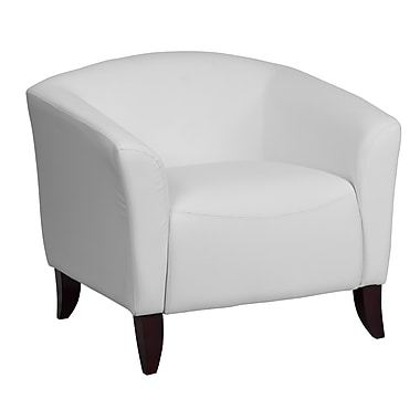 Flash Furniture Hercules Imperial Series Leather Chair, White