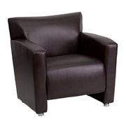 Flash Furniture HERCULES Majesty Series Leather Chair, Brown