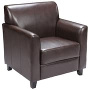 Flash Furniture Hercules Diplomat Series Leather Chair, Brown
