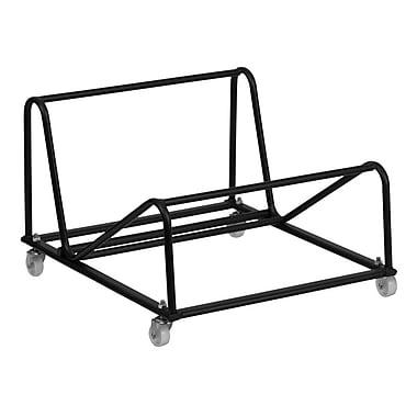 Flash Furniture – Chariot pour chaises empilables à haute densité, noir