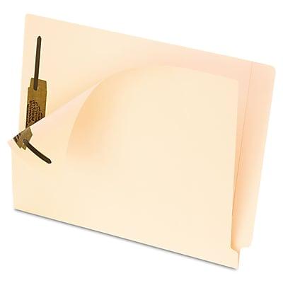 Pendaflex Smart Shield End Tab File Folder, Straight Tab, Letter Size, Manila, 50/Box (62714)