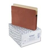 """Pendaflex® Letter File Folder w/3 1/2"""" Expansion, Red, 25/Pack"""