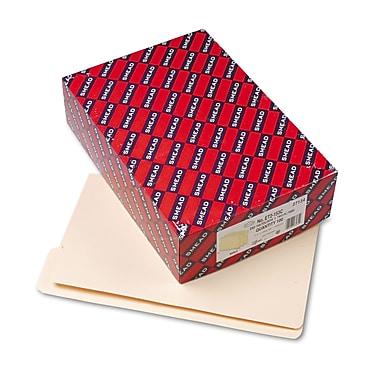 Smead® End Tab File Folder, Shelf-Master® Reinforced 4