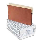 Pendaflex® 3 1/2 Inch Expansion File Pocket, Manila/Red Fiber, Legal, 25/Box (1526EOX)