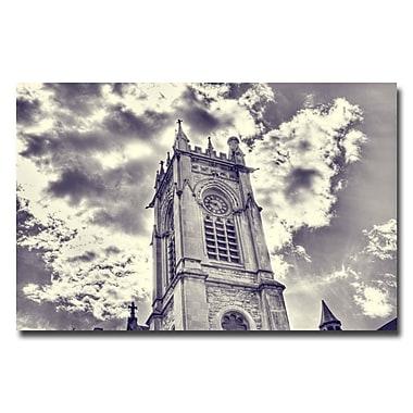 Trademark Fine Art Ariane Moshayedi 'Gothic Church' Canvas Art 22x32 Inches