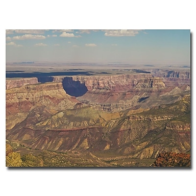 Trademark Fine Art Ariane Moshayedi 'Grand Canyon' Canvas Art 16x24 Inches