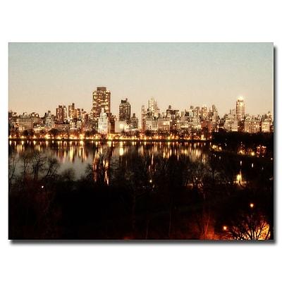 Trademark Fine Art Ariane Moshayedi 'All Lit Up' Canvas Art 16x24 Inches