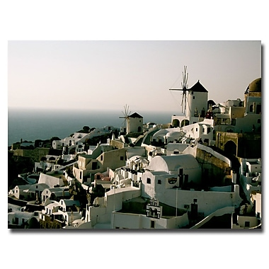 Trademark Fine Art Ariane Moshayedi 'Santorini Dusk' Canvas Art 18x24 Inches