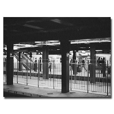Trademark Fine Art Ariane Moshayedi 'Station' Canvas Art 16x24 Inches
