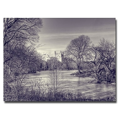 Trademark Fine Art Ariane Moshayedi 'Storybrook' Canvas Art 30x47 Inches
