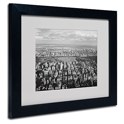 Trademark Fine Art Ariane Moshayedi 'Cloud View' Matted Art Black Frame 11x14 Inches