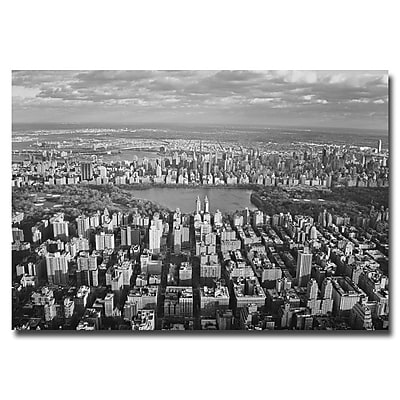 Trademark Fine Art Ariane Moshayedi 'Cloud View' Canvas Art 30x47 Inches