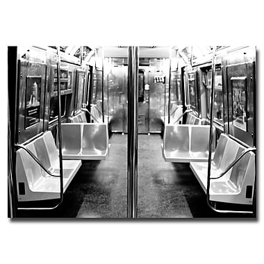 Trademark Fine Art Ariane Moshayedi 'Subway Car' Canvas Art 22x32 Inches
