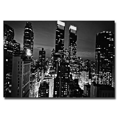 Trademark Fine Art Ariane Moshayedi 'Follow the Lights' Canvas Art 16x24 Inches
