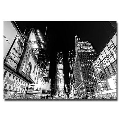 Trademark Fine Art Ariane Moshayedi 'Time Square' Canvas Art 30x47 Inches