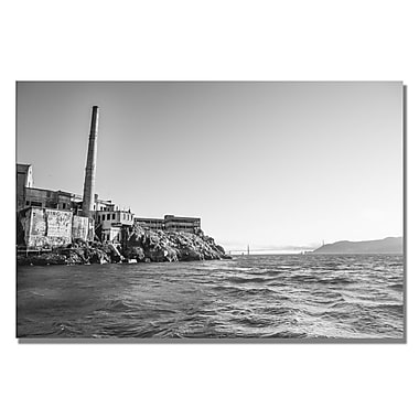 Trademark Fine Art Ariane Moshayedi 'Alcatraz II' Canvas Art 35x47 Inches
