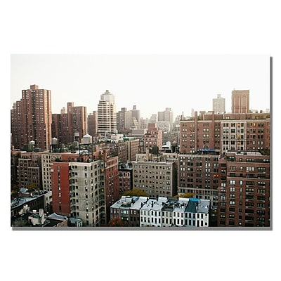 Trademark Fine Art Ariane Moshayedi 'City' Canvas Art 16x24 Inches
