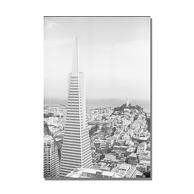 Trademark Fine Art Ariane Moshayedi 'Coit Tower' Canvas Art 16x24 Inches