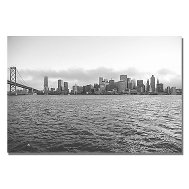 Trademark Fine Art Ariane Moshayedi 'Downtown' Canvas Art