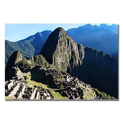 Trademark Fine Art Ariane Moshayedi 'Machu Picchu II' Canvas Art 16x24 Inches