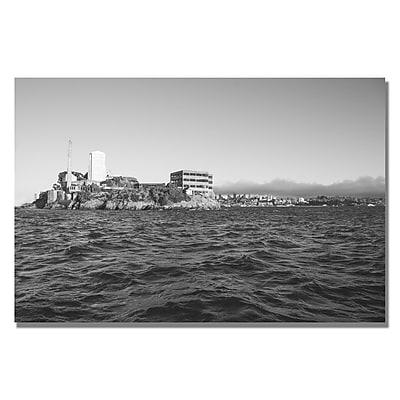 Trademark Fine Art Ariane Moshayedi 'Alcatraz III' Canvas Art 16x24 Inches