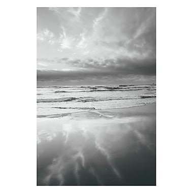 Trademark Fine Art Ariane Moshayedi 'Beach Reflections' Canvas Art 35x47 Inches