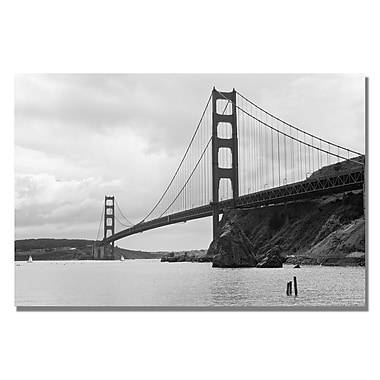 Trademark Fine Art Ariane Moshayedi 'Cavallo Point' Canvas Art 16x24 Inches