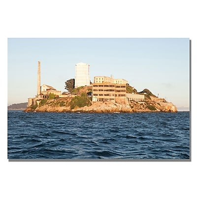 Trademark Fine Art Ariane Moshayedi 'Alcatraz V' Canvas Art 16x24 Inches