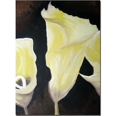 Trademark Fine Art Amanda Rea 'Eat Pray Love II' Canvas Art
