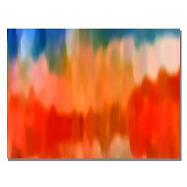 Trademark Fine Art Amy Vangsgard 'Abstract Watercolor III' Canvas Art 22x32 Inches