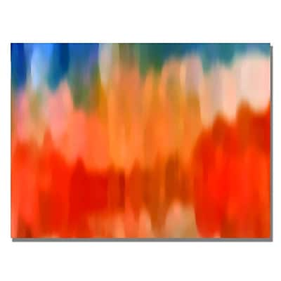 Trademark Fine Art Amy Vangsgard 'Abstract Watercolor III' Canvas 18x24 Inches