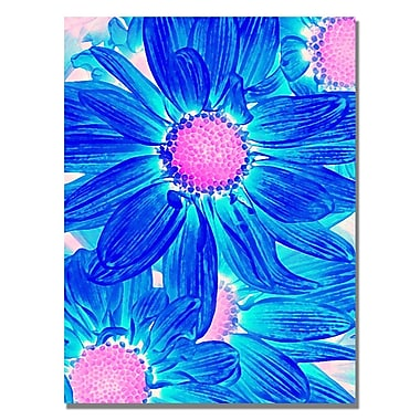 Trademark Fine Art Amy Vangsgard 'Pop Daisies VII' Canvas 35x47 Inches