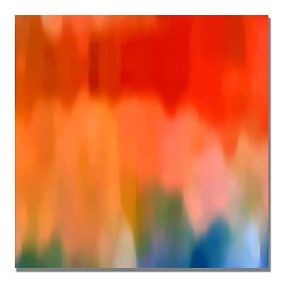 Trademark Fine Art Amy Vangsgard 'Abstract Watercolor' Canvas Art 35x35 Inches