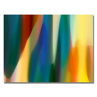 Trademark Fine Art Amy Vangsgard 'Color Fury IV' Canvas Art