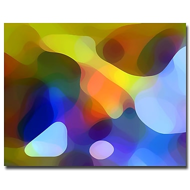 Trademark Fine Art Dappled Light and Shade-Canvas Art Ready to Hang