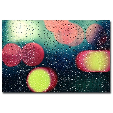 Trademark Fine Art Beata Czyzowska Young 'Rain and the City' Canvas Art