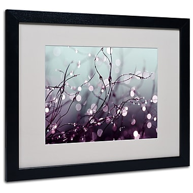 Trademark Fine Art Beata Czyzowska Young 'Somewhere Over the Rainbow' Black Frame 16x20 Inches