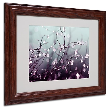 Beata Czyzowska Young 'Somewhere Over the Rainbow' Matted Framed Art - 11x14 Inches - Wood Frame