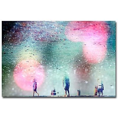 Trademark Fine Art Beata Czyzowska Young 'Things we Love' Canvas Art 16x24 Inches
