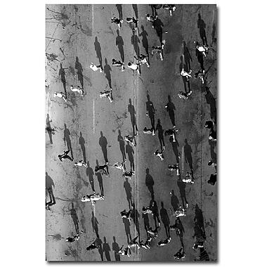 Trademark Fine Art Beata Czyzowska Young 'Point of View' Canvas Art 22x32 Inches