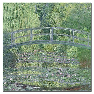 Trademark Fine Art Claude Monet 'The Waterylily Pond, 1899' Canvas Art