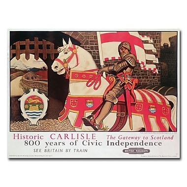 Trademark Fine Art Maurice Greffenhagen Getaway to Scotland 1924' Canvas Art