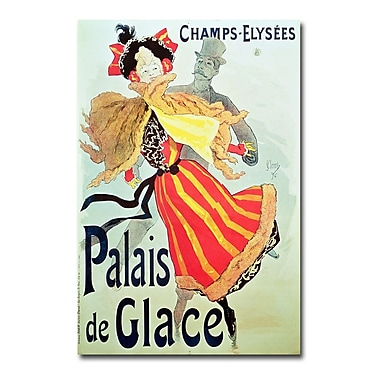 Trademark Fine Art Jules Cheret 'Ice Palace Champs Elysees 1893' Art