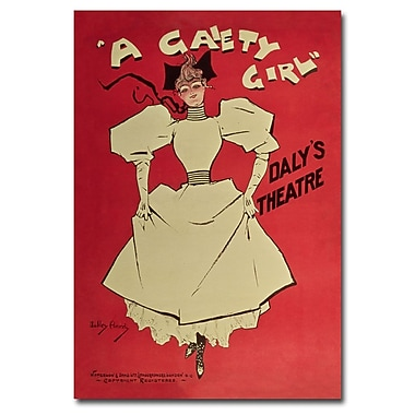 Trademark Fine Art Dudley Hardy 'A Gaiety Girl' Canvas Art