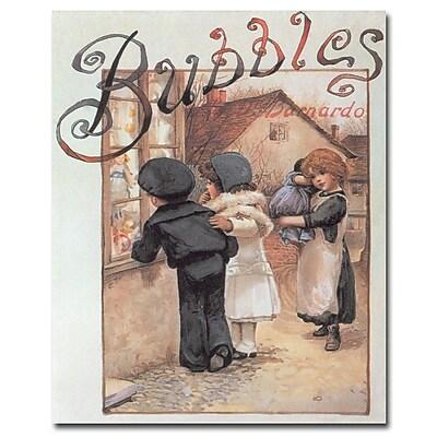 Trademark Fine Art 'Bubbles' Canvas Art
